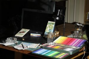 My Setup right now for Watercolor